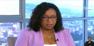 Alexandra Ocles, directora Nacional de la Secretaria de Gestión de Riesgos